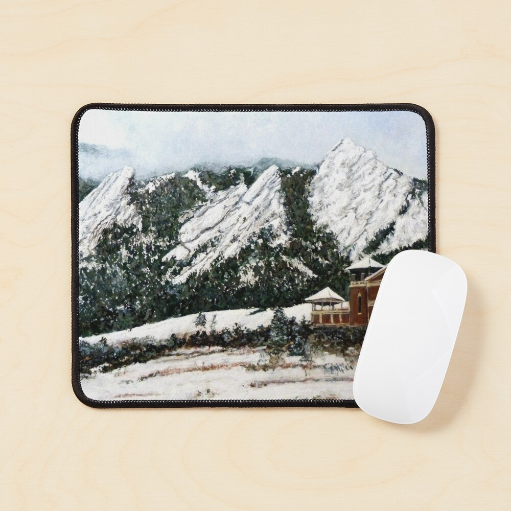 Chautauqua - Winter, Late Afternoon Mouse Pad