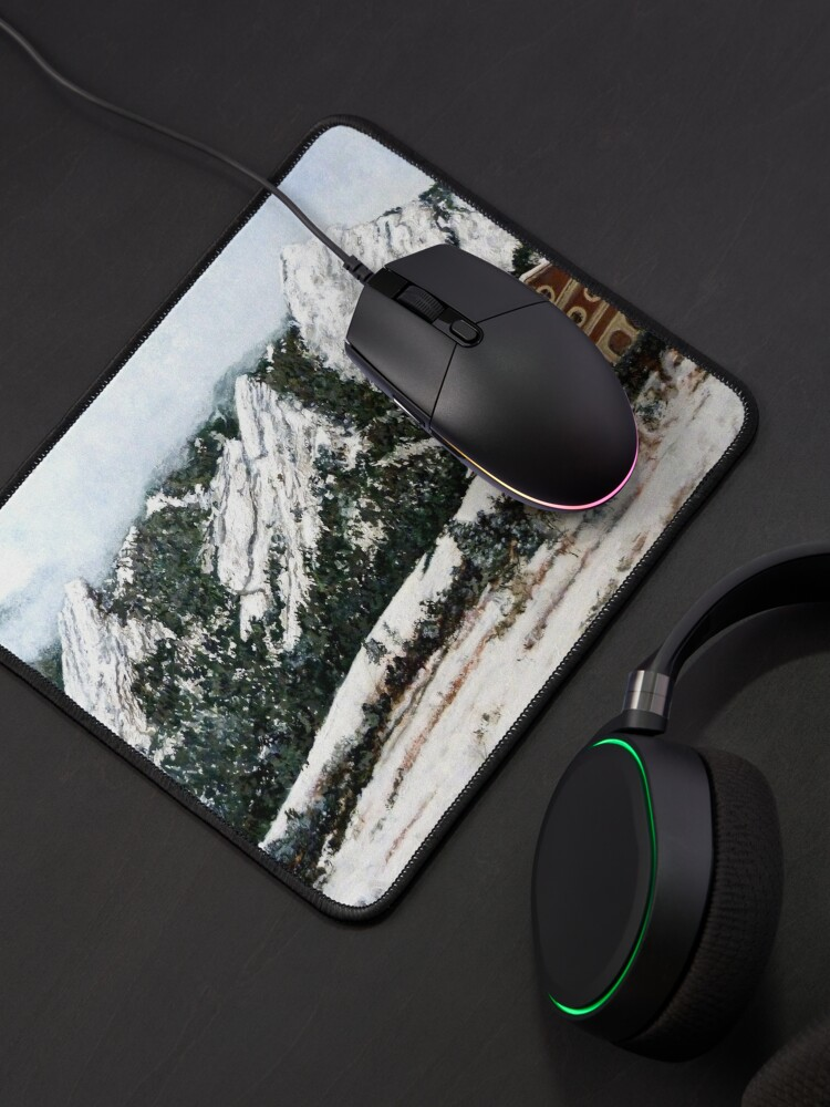Alternate view of Chautauqua - Winter, Late Afternoon Mouse Pad