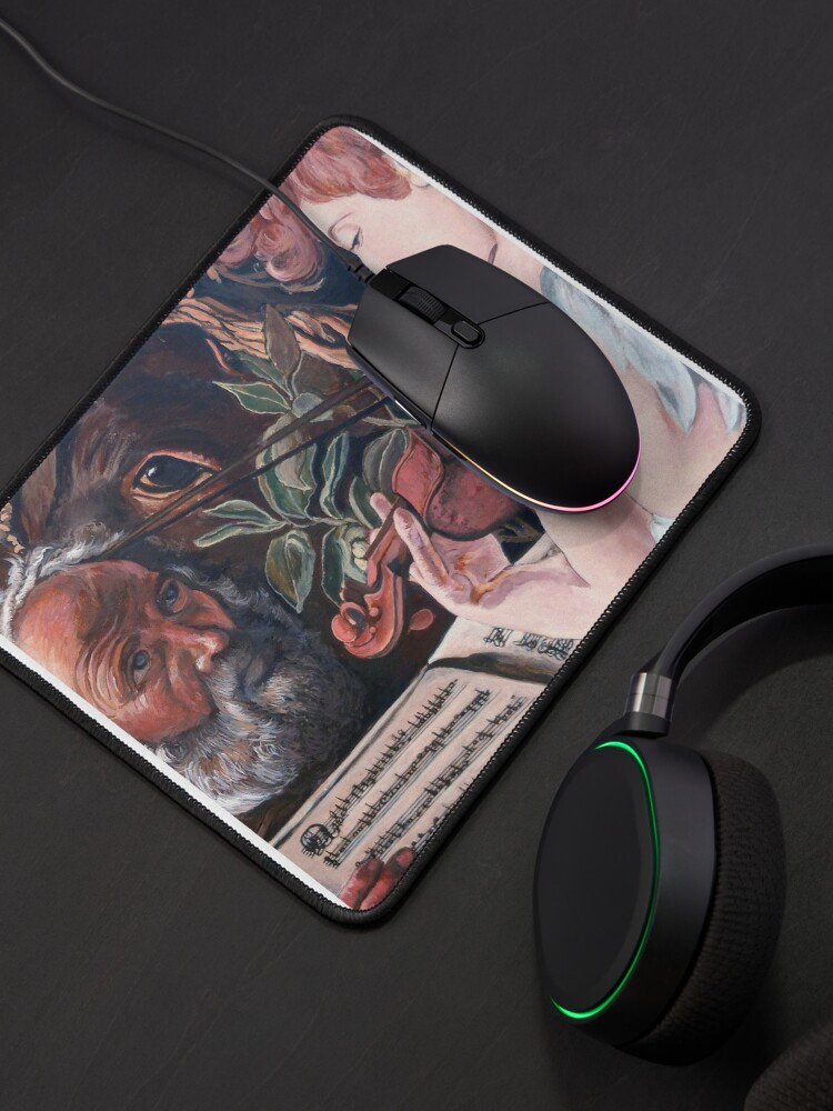 Alternate view of Rest On Flight Mouse Pad