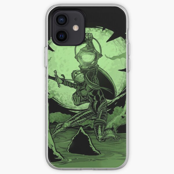 "Inktober 2020 Day 14 - ""Green"" iPhone Soft Case"