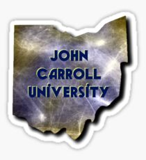 John Carroll Sticker