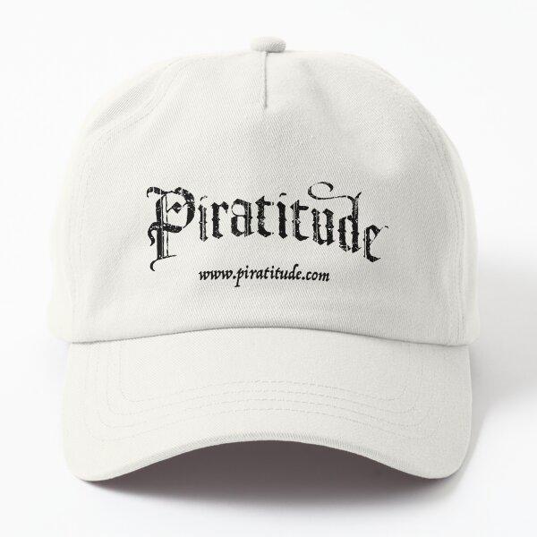 Piratitude - Black Logo Dad Hat
