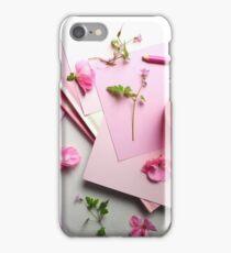 Pink Poem iPhone Case/Skin