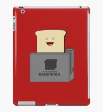 Nintendo Sandwich (Nintendo Switch Parody) iPad Case/Skin