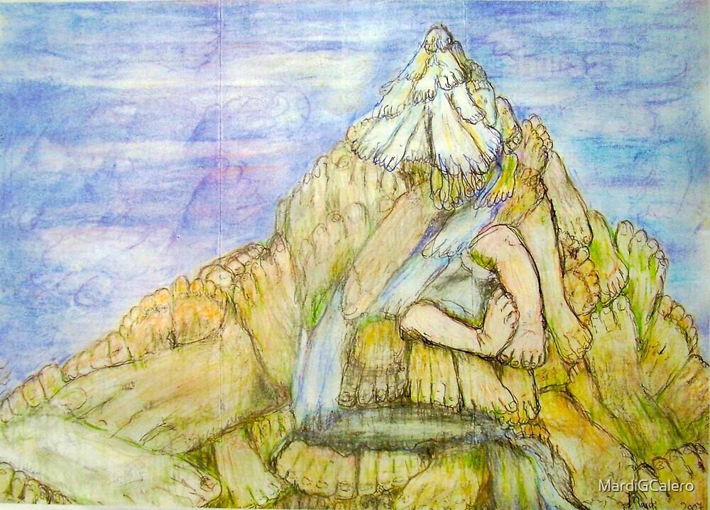Pod Mountain  by MardiGCalero