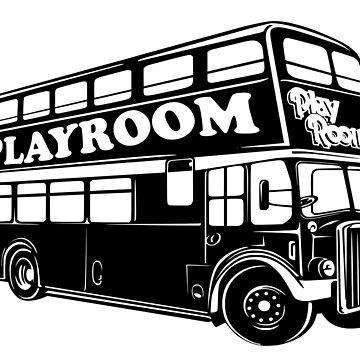 Playroom Bus by GoldCoastRetro