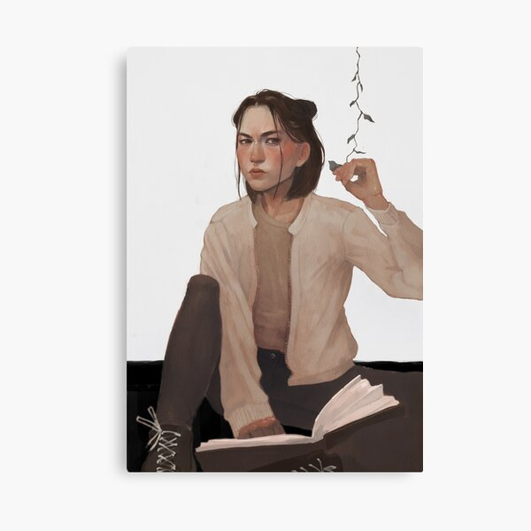 Reina Mori from the Atlas Six Canvas Print