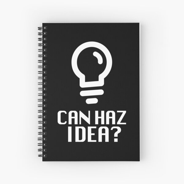 Can Haz Idea? Spiral Notebook