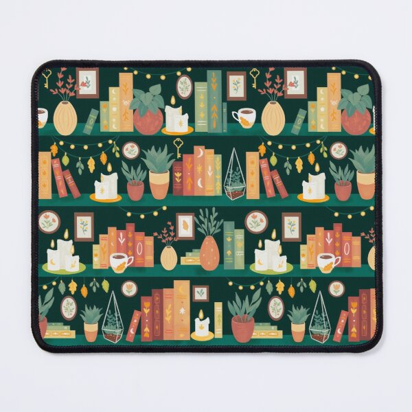 Hygge library Mouse Pad