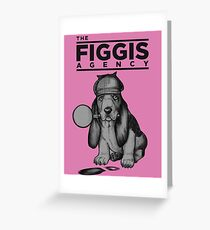 The Figgis Agency - Archer Greeting Card