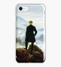 Wanderer above the Sea of Fog iPhone Case/Skin
