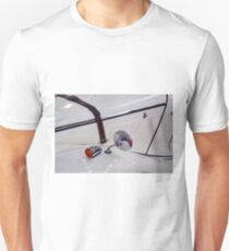 Detail of white vintage classic car T-Shirt