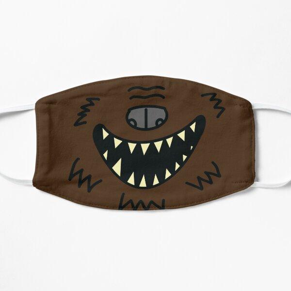 Werewolf Mask Flat Mask