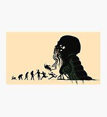 Lovecraft Darvinian Photographic Print