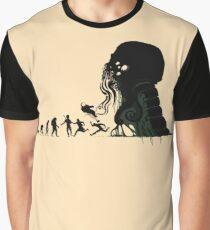 Lovecraft Darvinian Graphic T-Shirt
