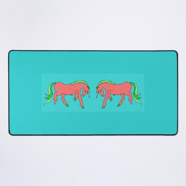 Unicorns Playing Desk Mat