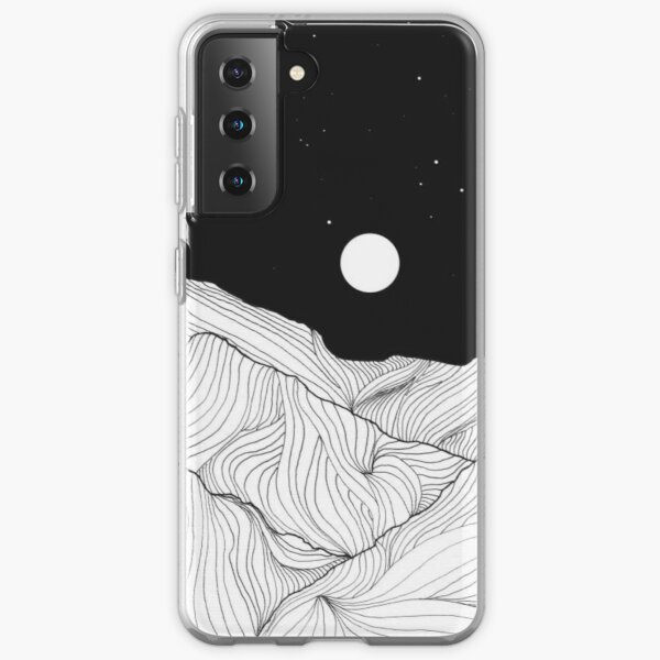 Lines In The Mountains Art Samsung Galaxy Soft Case
