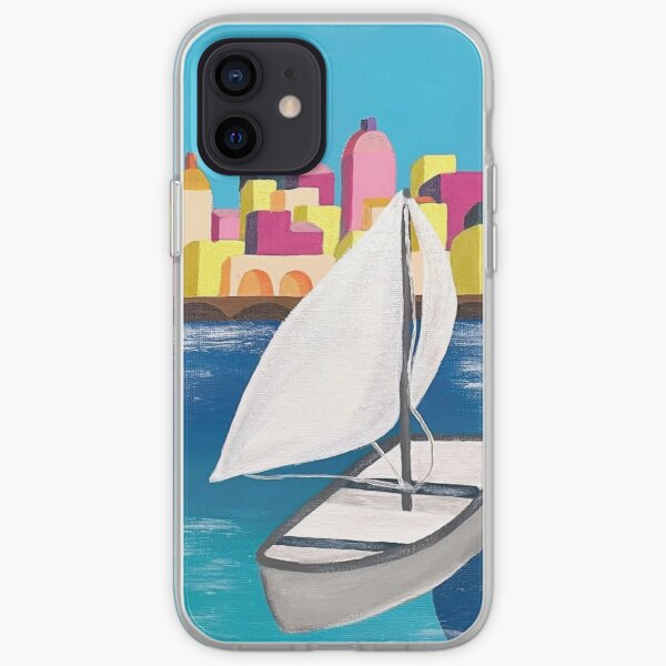 Sailboat in Italy iPhone Soft Case