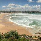 Bondi Beach Panorama by Michael Matthews