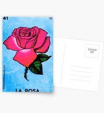 Loteria: La Rosa Postcards