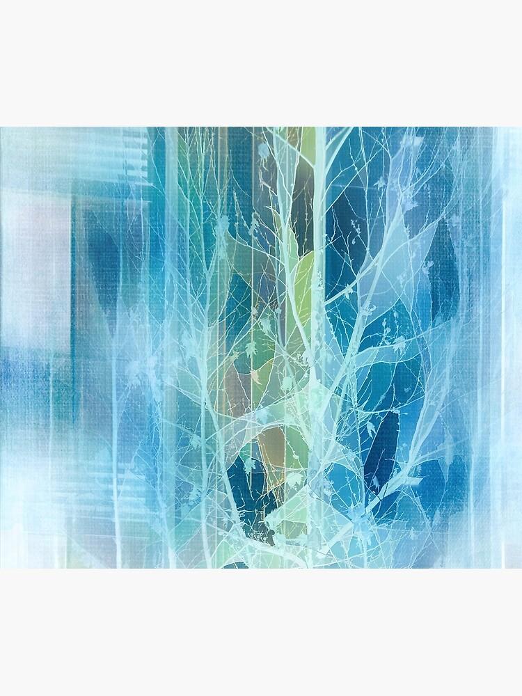 Winter Tree Reflection by TerryIKON