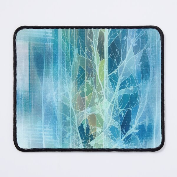 Winter Tree Reflection Mouse Pad