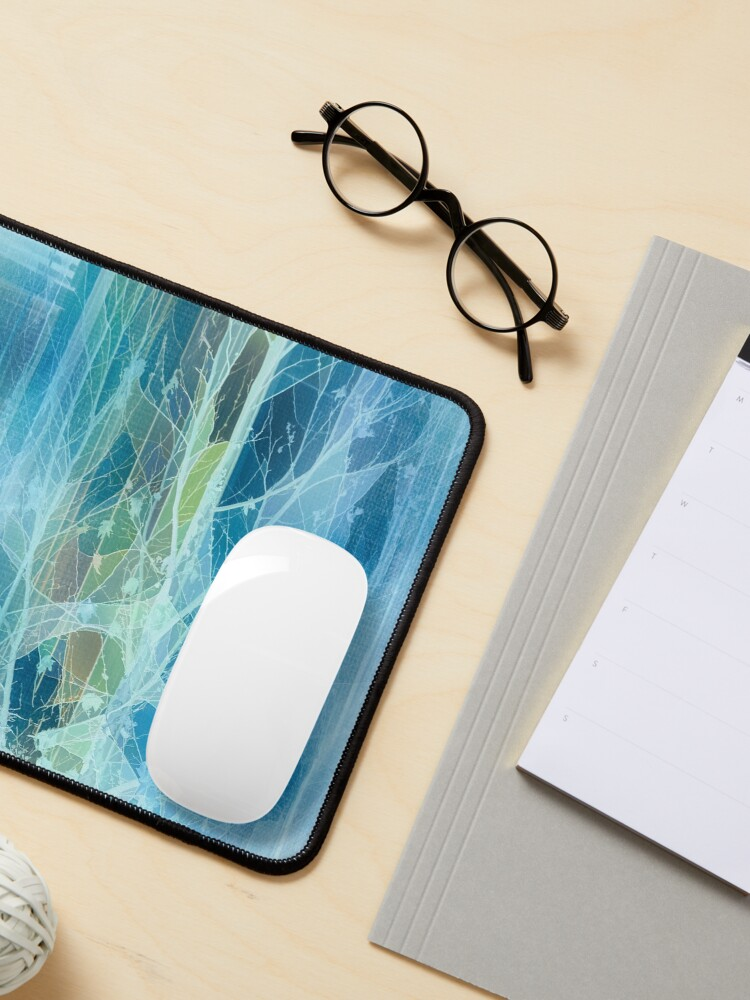 Alternate view of Winter Tree Reflection Mouse Pad
