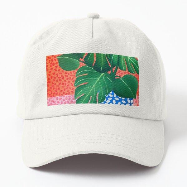 Monstera Plant  Dad Hat