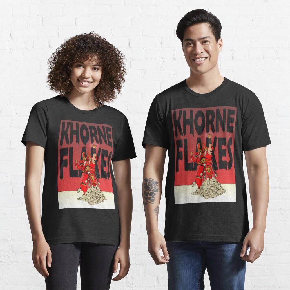 CHAOS KHORNE FLAKES Essential T-Shirt