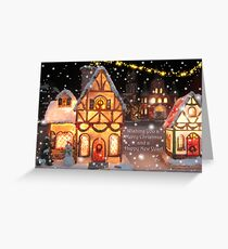 CHRISTMAS GREETING CARD Greeting Card