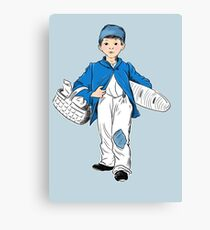 Bakers boy Canvas Print