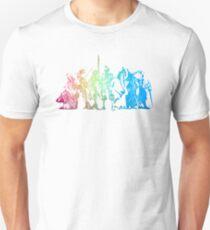 °FINAL FANTASY° Final Fantasy Tactics Rainbow Logo T-Shirt