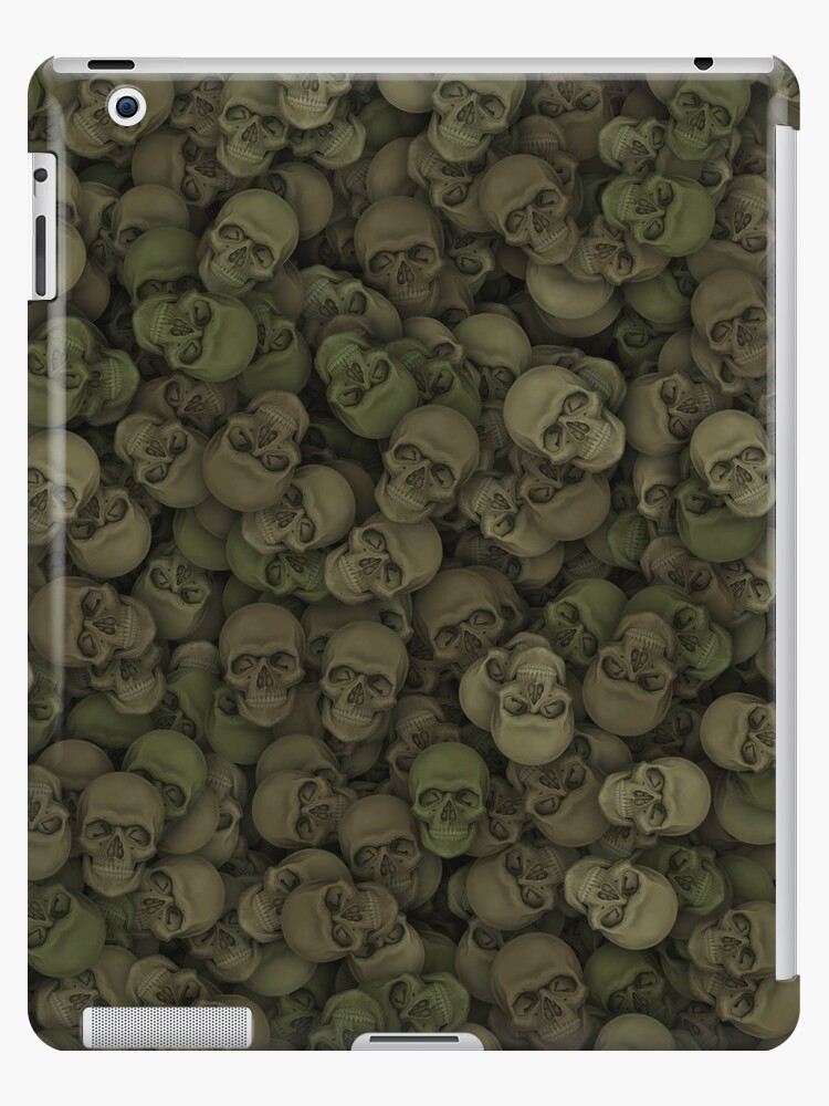 Camouflage skulls by dima-v