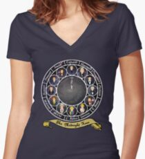 The Midnight Hour Women's Fitted V-Neck T-Shirt