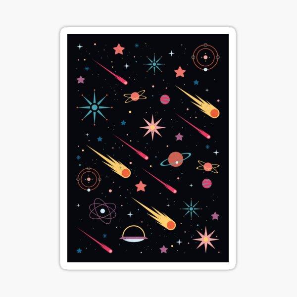 Fly Through Space  Sticker