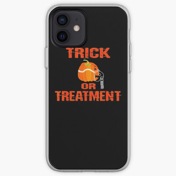 Funny Respiratory Therapist Halloween Gift Th iPhone Soft Case