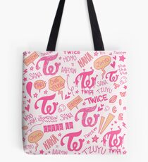 ZWEI Doodle-Muster Tote Bag