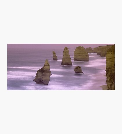 12 Apostles On A Rainy Sunrise Photographic Print