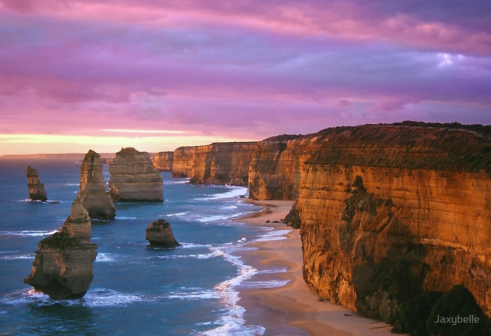 12 Apostles at Sunset by Jaxybelle