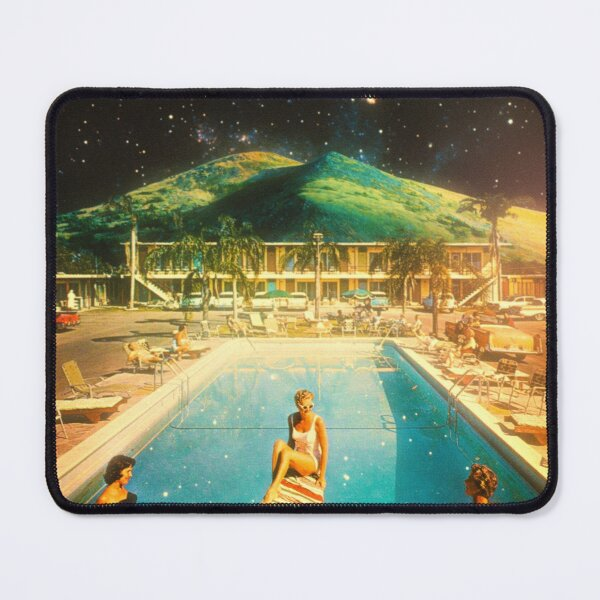 Space Pool Part Mouse Pad