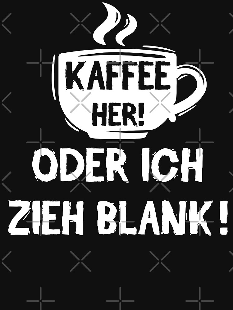 Kaffee her! Oder ich zieh blank! von brainbubbles