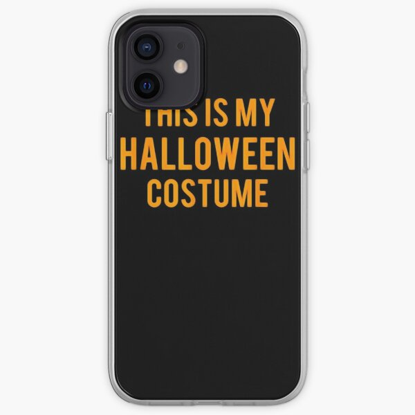 OFFICIAL This Is My Halloween Costume T-Shirt Kids M iPhone Soft Case