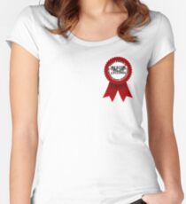 Beacon Hills Cyclones Insignia Women's Fitted Scoop T-Shirt
