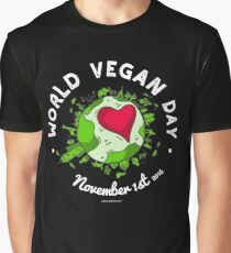 World Vegan Day  Graphic T-Shirt