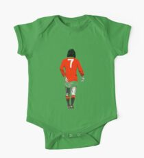 Gorgeous George Best Tribute Manchester United No.7 One Piece - Short Sleeve