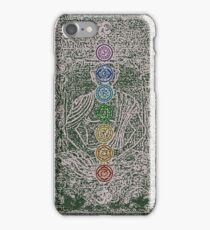 The Seven Chakras (Ancient) iPhone Case/Skin