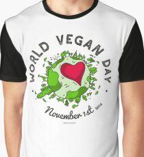 World Vegan Day Graphic T-Shirt