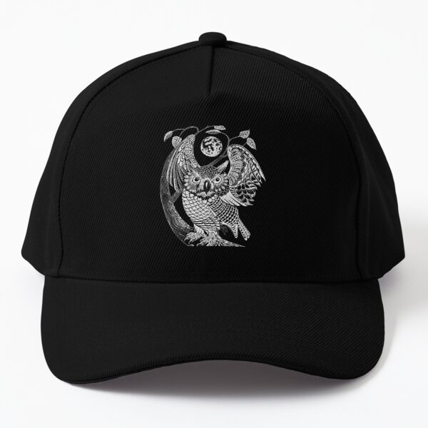 Owl Positive (only visible on dark background) Baseball Cap
