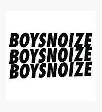 Boys Noize Record Photographic Print