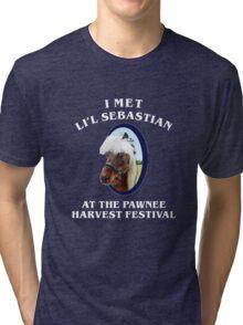 I Met Lil Sebastian Tri-blend T-Shirt